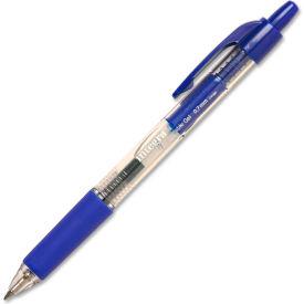 Integra™ Retractable Gel Pen, Comfort Grip, 0.7mm, Blue Ink, Dozen