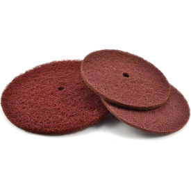 "Superior Abrasives 10532 S Cond HD Satin Disc 1/2"" Hole 8"" Aluminum Oxide Fine - Pkg Qty 25"