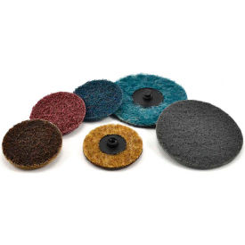 "Superior Abrasives 10557 Conditioning QC Disc Type R 3"" Aluminum Oxide Medium - Pkg Qty 25"