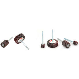 Superior Abrasives 24834 Flap Wheel Mandrel 1-3/16 x 3/16 x 1/8 Aluminum Oxide Very Fine - Pkg Qty 10