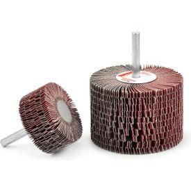 Superior Abrasives 28974 Flap Mop Mandrel 2-1/2 x 1-1/2 x 1/4 Aluminum Oxide Very Fine - Pkg Qty 10