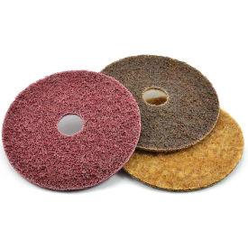 "Superior Abrasives 35599 Condition Disc Hook and Loop 5"" Aluminum Oxide Medium - Pkg Qty 20"