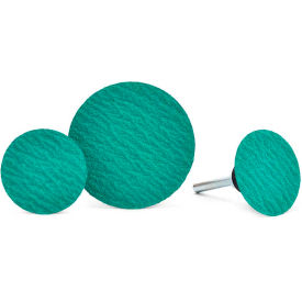 "Superior Abrasives 36671 QC Disc Type R 1-1/2"" Aluminum Oxide Extra Coarse - Pkg Qty 100"