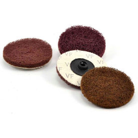 "Superior Abrasives 40170 S Cond HD QC Satin Disc Type R 2"" Aluminum Oxide Medium - Pkg Qty 50"