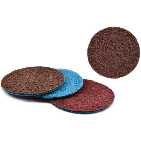 "Superior Abrasives 40402 Conditioning Disc Hook and Loop 4"" A/O w/Ceramic Grinding Aid Coarse - Pkg Qty 20"