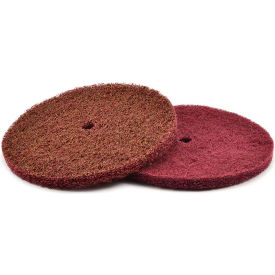 "Superior Abrasives 40613 S Cond HS Satin Disc 1/2"" Hole 8"" Aluminum Oxide Very Fine - Pkg Qty 25"