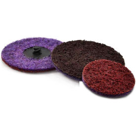 """Superior Abrasives 50762 Conditioning QCEP Disc Type S 3"""" Aluminum Oxide Coarse - Pkg Qty 25"""