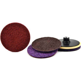 "Superior Abrasives 50843 Conditioning Disc Hook and Loop 4-1/2"" Aluminum Oxide Coarse - Pkg Qty 20"