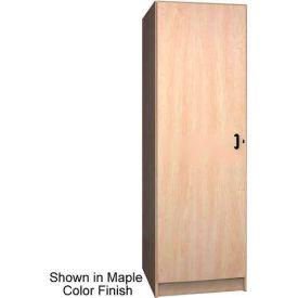 Ironwood 1 Compartment Solid Door Storage Locker, Natural Oak Color