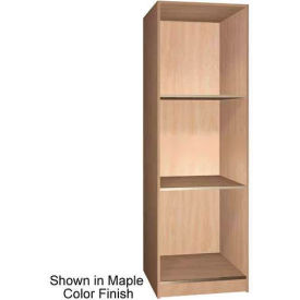 """Ironwood 3 Compartment Open Storage 30"""" D Locker, Maple Color"""