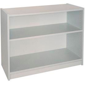 "30"" Adjustable Bookcase - 36""W x 11-7/8""D x 30-5/8""H Gray"