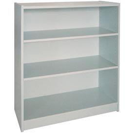 "42"" Adjustable Bookcase - 36""W x 11-7/8""D x 41-7/8""H Gray"