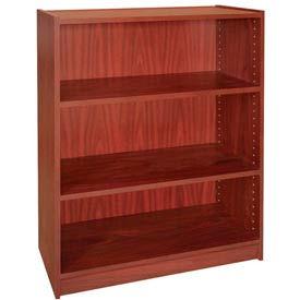 """42"""" Adjustable Bookcase - 36""""W x 11-7/8""""D x 41-7/8""""H Mahogany"""