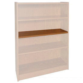 "Extra Shelf - 34-1/2""W x 11-1/2""D x 3/4"" Thick for Adj. Bookcase Medium Oak"