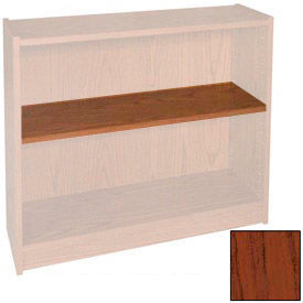"Extra Shelf - 34-1/2""W x 11-1/2""D x 1"" Thick for Adj. Bookcase Mahogany"