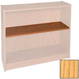 "Extra Shelf - 34-1/2""W x 11-1/2""D x 1"" Thick for Adj. Bookcase Natural Oak"