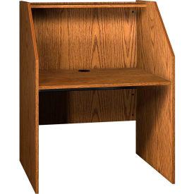 Superbe Computer Furniture | Computer Desks U0026 Workstations | Ironwood Study Carrel  Base, 37 3/8u0026quot;W X 30u0026quot;D X 47 7/8u0026quot;H, Medium Oak | B239497 ...
