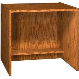 """36"""" x 32"""" Desk Shell - 36""""W x 30-1/8""""D x 32-1/8""""H Medium Oak"""