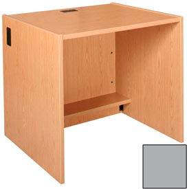 """36"""" x 32"""" Desk Shell - 36""""W x 30-1/8""""D x 32-1/8""""H Gray"""