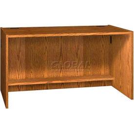 """60"""" x 32"""" Desk Shell - 60""""W x 30-1/8""""D x 32-1/8""""H Medium Oak"""