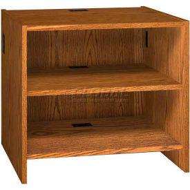 "Adjustable Shelf Unit - 36""W x 30-1/8""D x 32-1/8""H Medium Oak"