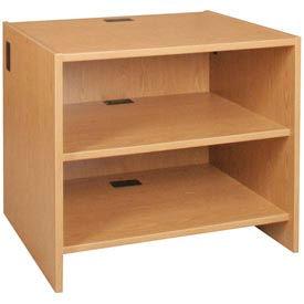 "39"" Adjustable Shelf Unit - 36""W x 30-1/8""D x 39-1/4""H Amber Ash"