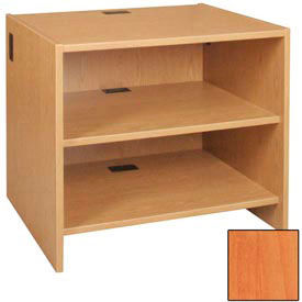 "39"" Adjustable Shelf Unit - 36""W x 30-1/8""D x 39-1/4""H Oiled Cherry"