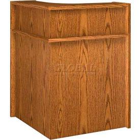 "Corner Riser - 31""W x 31""D x 10""H Medium Oak"