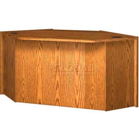 "32"" Corner Unit - 69-1/4""W x 49""D x 32-1/8""H Medium Oak"