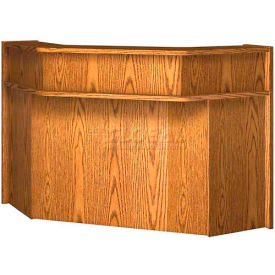 "Corner Riser - 48-3/4""W x 48-3/4""D x 10""H Medium Oak"