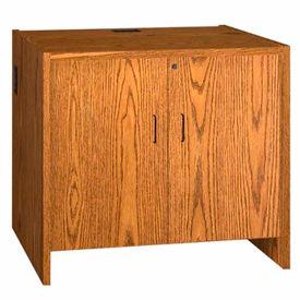 "39"" Hinged Door Unit - 36""W x 30-1/8""D x 39-1/4""H Medium Oak"