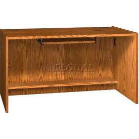 """Keyboard Shelf for CDC - 27-5/8""""W x 16""""D x 4""""H Medium Oak"""