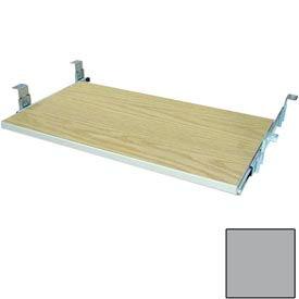 "Keyboard Shelf for CDC - 27-5/8""W x 16""D x 4""H Gray"