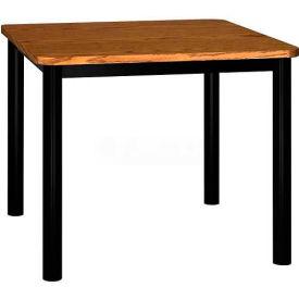 "Square Library Table - 36""W x 36""D x 29""H Medium Oak"