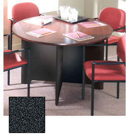 "Ironwood 48"" Conference Table - 48""W x 48""D x 28-5/8""H Black Granite"