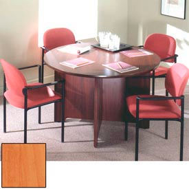 """Ironwood 60"""" Conference Table - 60""""W x 60""""D x 28-5/8""""H Oiled Cherry"""