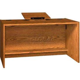 """Revolving Dictionary Stand - Table Top - 22""""W x 16""""D x 5-1/2""""H Medium Oak"""