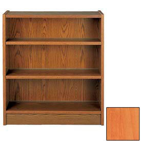 "42"" Single Face Shelving Base - 37""W x 12-1/4""D x 40-7/8""H Oiled Cherry"