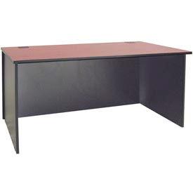 "Ironwood Desk Shell - 72""W x 23-3/4""D x 28-3/8""H - Mahogany  - 3000 Series"