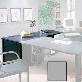 "Ironwood Desk Shell - 48""W x 30""D x 28-3/8""H - Gray  - 3000 Series"