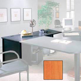 "Ironwood 30"" x 72"" Desk Shell - 72""W x 30""D x 28-3/8""H - Oiled Cherry  - 3000 Series"