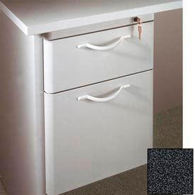"""Ironwood Box/File Hanging Pedestal - 20""""W x 15""""D x 19""""H Black Granite  - 3000 Series"""
