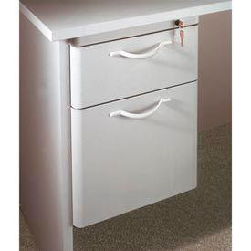 """Ironwood Box/File Hanging Pedestal - 20""""W x 15""""D x 19""""H Gray  - 3000 Series"""