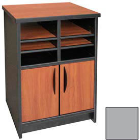 "Ironwood Machine Stand - 21-1/2""W x 18""D x 29""H Gray  - 3000 Series"