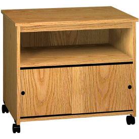 "Ironwood Multi-Purpose Stand, 29-7/8""W x 19-7/8""D x 26-3/8""H, Natural Oak"
