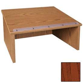 """Table top Podium / Lectern - 24""""W x 19-3 / 4""""D x 13-3 / 4""""H Mahogany"""