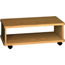 "Ironwood Printer Wagon, 32""W x 15-7/8""D x 12-1/8""H, Natural Oak"