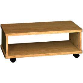 """Printer Wagon - 32""""W x 15-7/8""""D x 12-1/8""""H Natural Oak"""