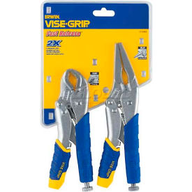 Irwin Vise-Grip 2 Pc. Fast Release Locking Pliers Set Contains: 9LN, 7CR