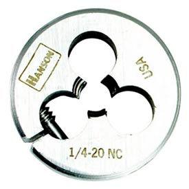 """3/8""""-16 Irwin&174; Hanson&174; Carbon Steel Round Split Die 1"""" OD - Pkg Qty 5"""